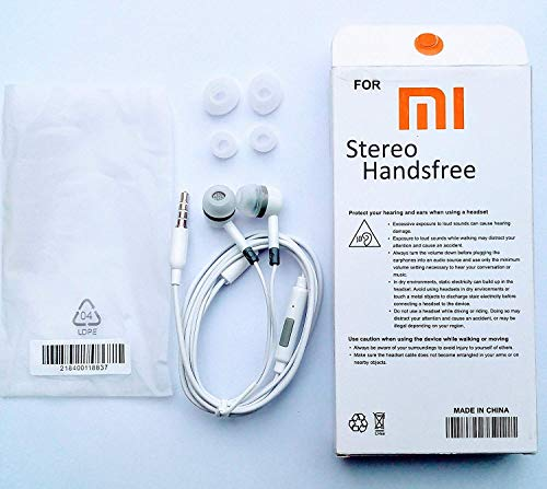 All product online Mi Super Bass Quality Wired Earphones with Mic for All Mobile (White Shade) Image 2