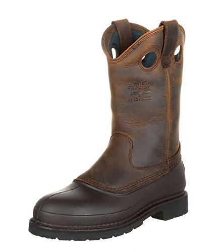 FB Fashion Boots Georgia Boot G5514 W Muddog Wellington Brown/Herren Stiefel Braun/Herrenstiefel/Work Boot Brown (Weite W)