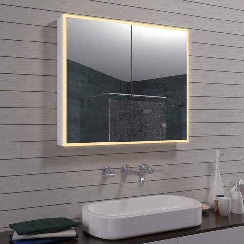 Lux-aqua Diseño mla0870de R LED Armario Espejo