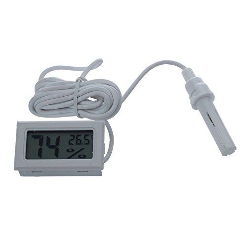 Mall-sonde (SODIAL(R) Mini Digital LCD Thermometer Hygrometer Luftfeuchtigkeit Meter Sonde)