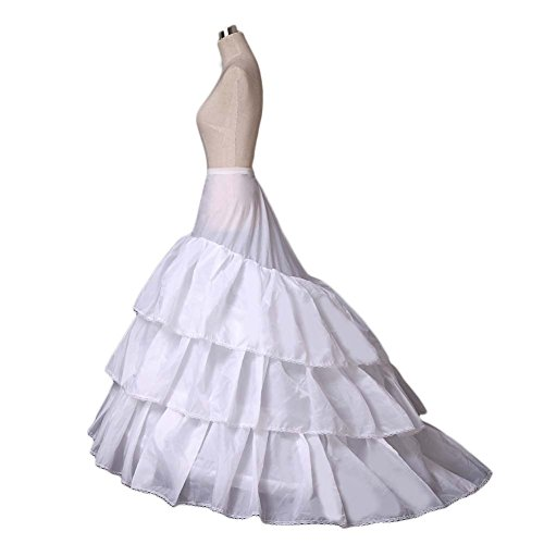 AnnieHouse Women's 3-Hoop A-line Wedding Petticoat for sale  Delivered anywhere in UK