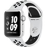 Apple Watch Nike+ OLED GPS (satélite) Plata reloj inteligente - relojes inteligentes (OLED, Pantalla táctil, GPS (satélite), 18 h, 26,7 g, Plata)