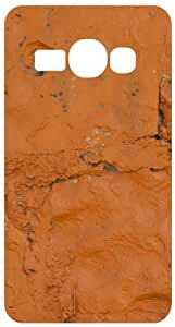 Orange Stonewall White Back Cover Case for Samsung Galaxy Ace 3 S7272