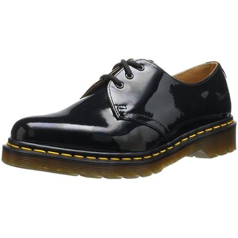 Dr Martens 1461 Patent Lamper - Zapatos de cordones de charol para mujer