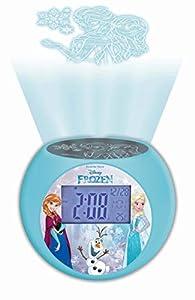 Lexibook - Despertador Digital, Azul (Frozen)