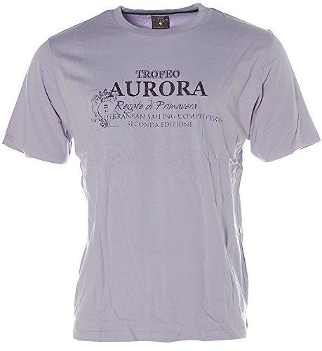 Kitaro Herren T-Shirt -AURORA- Lavendel