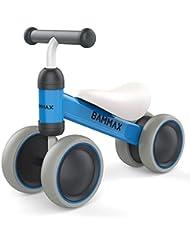 Bammax Vélo Draisienne, Bébé Balance Bike Vélo sans Pédales Enfant pour Bébé et Enfant utilisé à l'intérieur et à l'extérieur