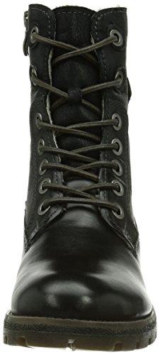 Tamaris 26207 Damen Combat Boots Schwarz (Black 001)