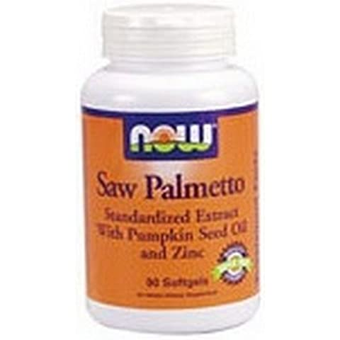 NOW Foods - Pygeum & Saw Palmetto 60 capsule