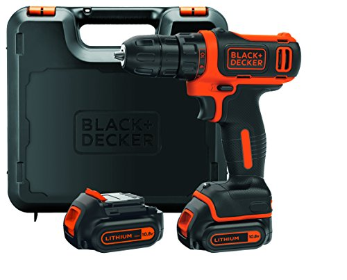 BLACK+DECKER BDCDD12KB-QW Perceuse-visseuse sans fil - 12V...