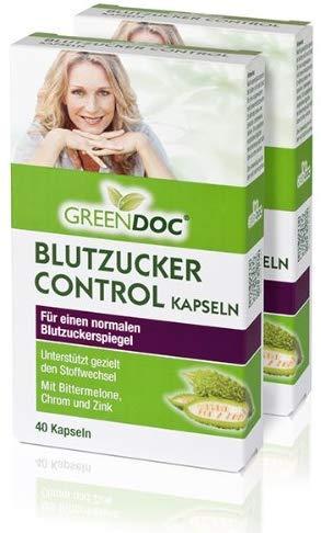 GreenDoc Blutzucker Control Kapseln | 2er-Pack