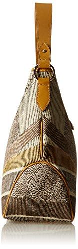 Gattinoni Gacpu0000095, Borsa a Spalla Donna, 14x33x42 cm (W x H x L) Beige (Deserto)