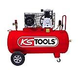 KS Tools - 165.0705 - Compresseur sur cuve 200L - 10 bars - 3 CV -220V Mono
