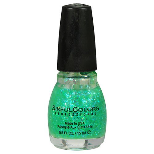Bari Revlon 5162-02 Green Ocean Nail Polish by Sinful Colors (Sinful Nagellack Grün)