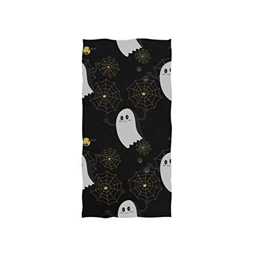 Coole Halloween Creep Fun Ghost Soft Spa Strand Badetuch Fingerspitze Handtuch Waschlappen Für Baby Erwachsene Bad Strand Dusche Wrap Hotel Reise Gym Sport 30x15 Zoll