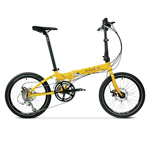 Folding Bikes Bicycle folding bicycle 20 inch variable speed aluminum alloy unisex ultra light disc brake bicycle