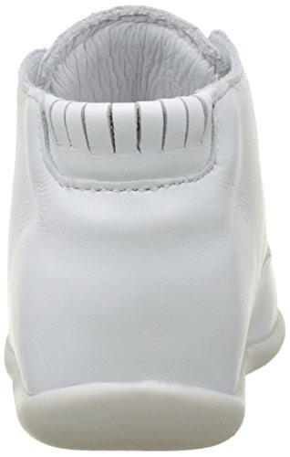 babybotte Baby Mädchen Floupi Lauflernschuhe Weiß (Weiß)