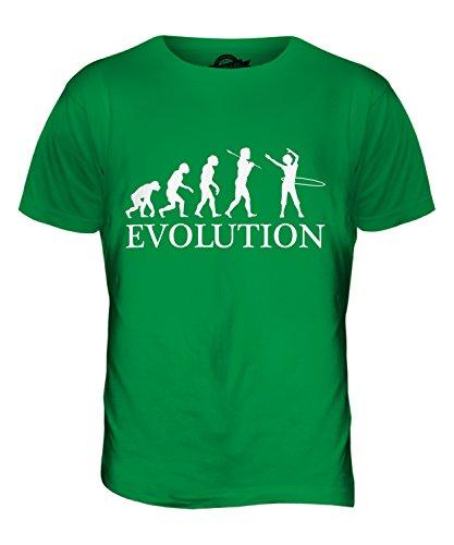 CandyMix Hula Hoop Evolution Des Menschen Herren T Shirt Grün