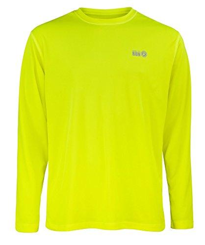 Time To Run Men's Favourite Long Sleeve Running Gym T Shirt
