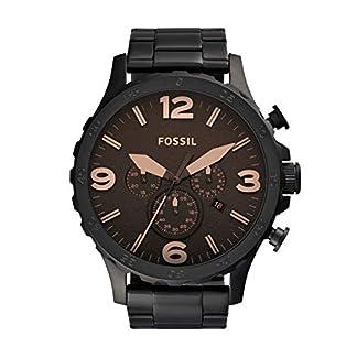 FOSSIL Nate JR1356 – Reloj de pulsera para hombre, pantalla analógica
