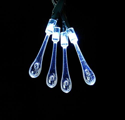 120 weiße LED Multi Action Tröpfchen Baum Net Light - perfekt für Ihren Weihnachtsbaum (Multi-seil-leuchten)