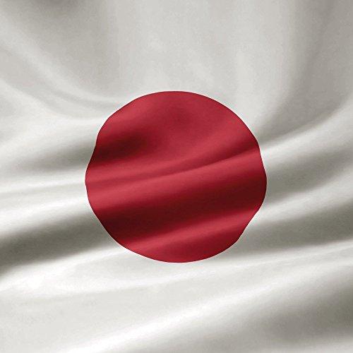 Apple iPhone 4 Housse Étui Silicone Coque Protection Japon Drapeau Drapeau Étui en cuir marron