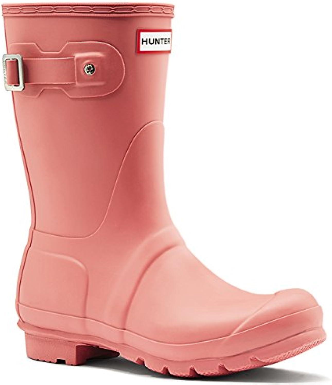 Hunter Orignal Short Pink Womens Wellington Boots
