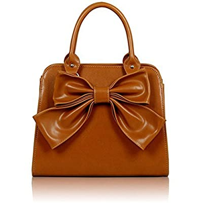 Womens Fashion Shoulder Top-handle Handbags Celebrity Style Faux Leather Tote Bag