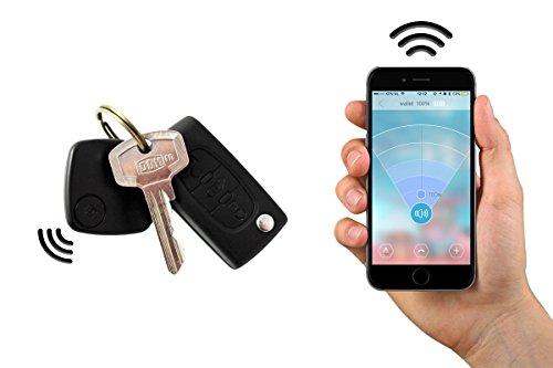 Safekeepers Keyfinder Bluetooth - Porte Clé Connecté – Clefs – Ne Perdez Plus Jamais vos Clés avec vos Téléphone