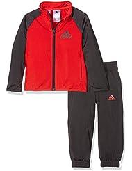 adidas Yb Ts Entry Ch - Chándal para niños de 13-14 años, color rojo / negro
