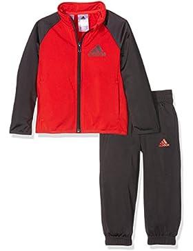 adidas Yb TS Entry Ch - Chándal para niños de 11-12 años, Color Rojo/Negro