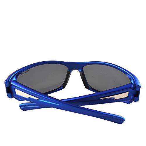 Retro Vintage Sonnenbrille, für Frauen und Männer Kühle polarisierte Sport-Sonnenbrille-Frauen-Männer for Radfahren-Baseball-Laufen-Fischen-Golf-Klettern im Freien (Farbe : A002)
