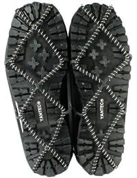 Yantec® Spikes für Schuhe, schwarz (Spiralen Antirutschhilfe) Größe L (ca. 42-44) Schuhspikes