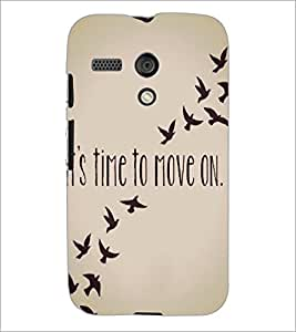 PrintDhaba Quote D-4197 Back Case Cover for MOTOROLA MOTO G (Multi-Coloured)