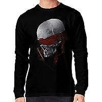 t-shirt manica lunga nera - teschio condannato a morte - esecuzione - S M L XL XXL uomo donna bambino maglietta by tshirteria