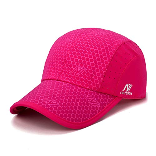 Gisdanchz Breathable Running Hat,Adjustable Baseball Cap,Mens Womens Waterproof Lightweight Hat Outdoor Polyester Mesh Fitted Hats Fishing Hiking Sports Breathable Workout Adujustable CapNavy Serie Mesh Cap
