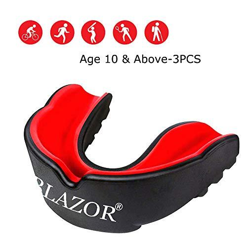Garde de bouche / protège-dents pour la jeunesse - Protection des dents pour le bouclier gingival - Tous les sports et jeux de contact - UFC, boxe, taekwondo, arts martiaux, etc. pour femmes et hommes
