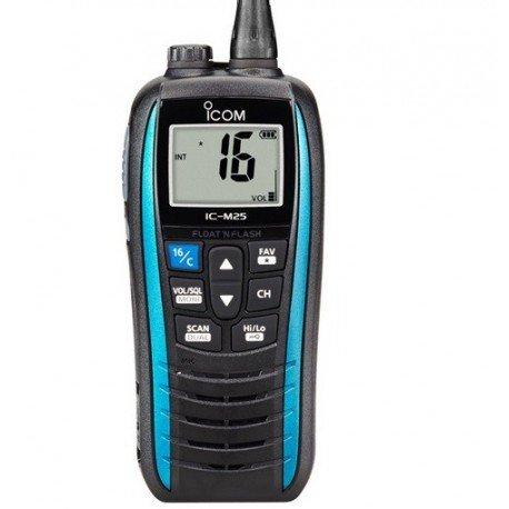 ICOM ic-m25Euro VHF, blau Schwimmendes Vhf Radio