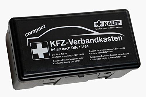 erste hilfe auto set Kalff 23503 KFZ-Verbandskasten Kompakt DIN 13164