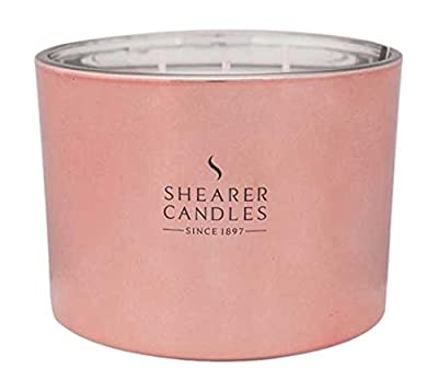 Shearer Candles Cerise Multi-Wick Candle, Rose Gold from Shearer Candles