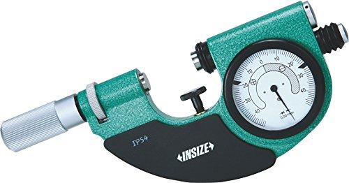 INSIZE 3334-100 Dial Snap Gage, 75 mm - 100 mm, Graduierung 0,001 mm