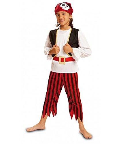 Imagen de my other me  disfraz de pirata calavera para niños, talla 3 4 años viving costumes mom00571
