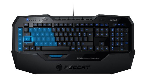 ROCCAT Isku USB Schwarz - Tastaturen (Standard, Verkabelt, USB, Schwarz)