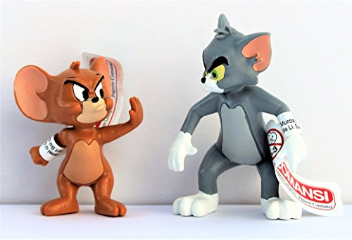 Spielset Tom & Jerry streitend - Größe ca. 5,5 - 7,0 cm Tom Jerry Spiel