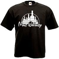 T-shirt noir coupe homme 100% coton - 185g/m2 Coupe ample Marquage professionnel - Imprimé en France