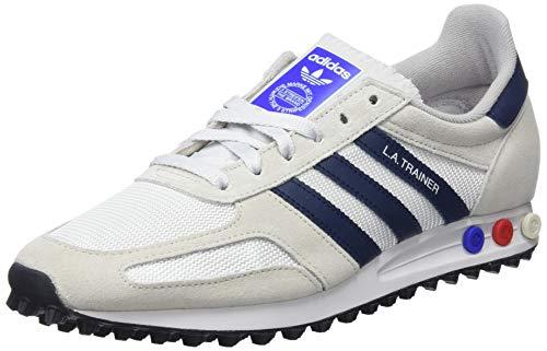 sports shoes 8c654 e374f Usato, adidas La Trainer Scarpe da Fitness Uomo, Bianco (BalcriMaruni