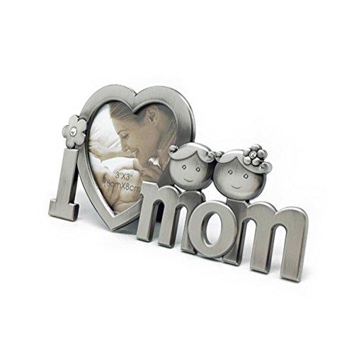 Preisvergleich Produktbild OULII Ich liebe Mom Photo Frame