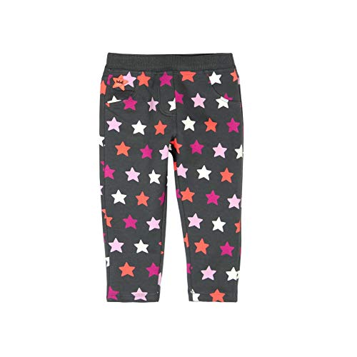 boboli 206176, Pantalones Deportivos para Bebés, (Estrellas 9907), 74 (Tamaño del Fabricante:9M)