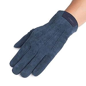 Unbekannt XIAOYAN Handschuhe Herren Radhandschuhe Winddicht Rutschfest warm halten volle Finger in 4 Farben Bequem