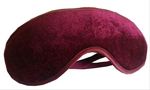 Bester Preis magnetische Nchatt, weiche Augenmaske Schlafen Dechat Abdeckung, Reisen Relax Augenbinde, für Männer, Frauen und Kinder